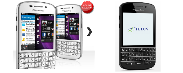 QWERTY lovers can get their hands on BlackBerry Q10 in late April