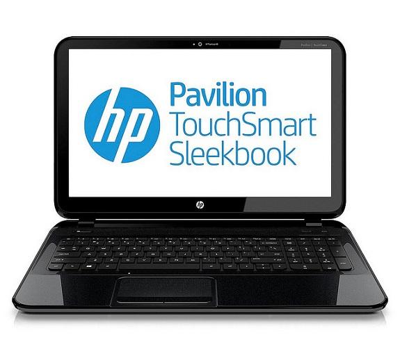 The HP Pavilion 14 TouchSmart Sleekbook. (photo courtesy HP)
