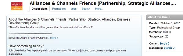 Alliances & Channel Friends