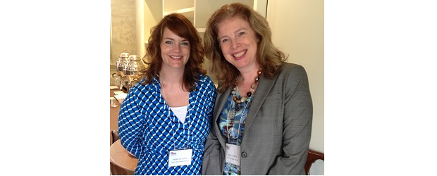 Cisco Canada executives Rebecca Leach and Trina Alexson.