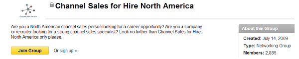 channel sales for hire