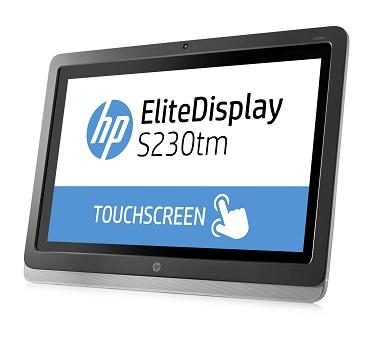 HP EliteDisplay S230tm_left