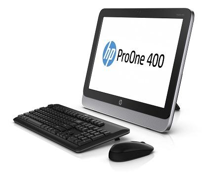 HP ProOne AiO_left w keyboard