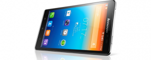 The VibeZ, one of Lenovo's  newest smartphones
