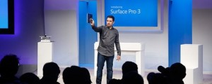 Panay Panos introduces the Surface Pro 3