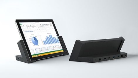Surface Pro 3 with docking station