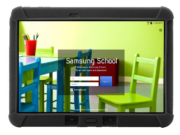 Samsung School tablet