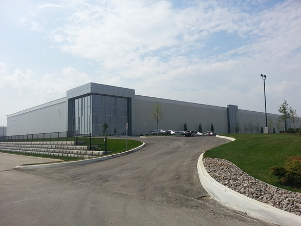 D&H Canada facility in Brampton, Ont.