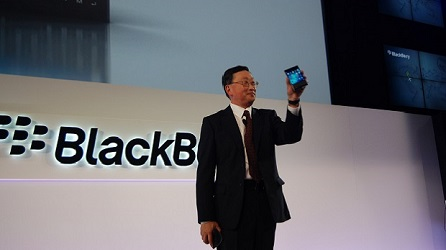 BlackBerry CEO John Chen blogs about not giving into hype