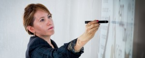 feature Microsoft Kinect, planning, woman in IT
