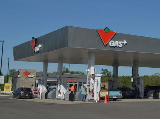 in story canadian tire gas