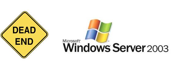 Windows Server 2003 Dead End WS