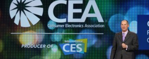 Consumer Electronics Association CEO Gary Shapiro at Intel's 2014 Keynote at CES