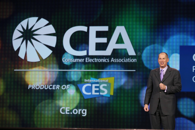Consumer Electronics Association CEO Gary Shapiro at Intel's 2014 Keynote at CES