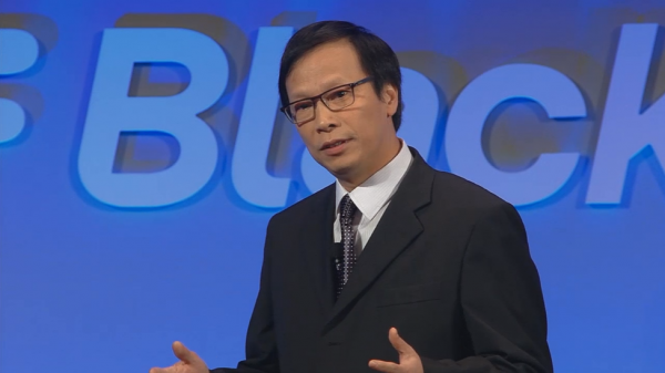 Richard Tam, Executive Vice President and Chief Operating Officer, Mackenzie Health at the BlackBerry Classic Launch