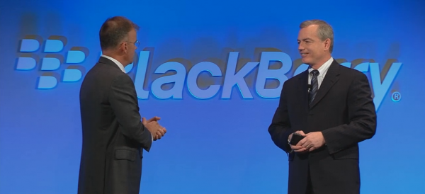 Steve Hodges, AT&T Mobility at the BlackBerry Classic Launch in New York