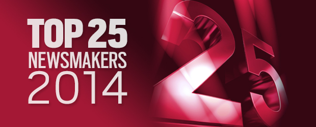 CDN Top 25 Newsmakers of 2014