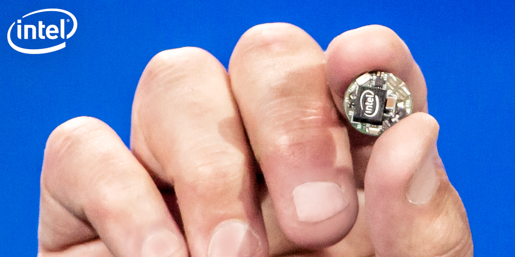 "Intel's new ""Curie"" chip"