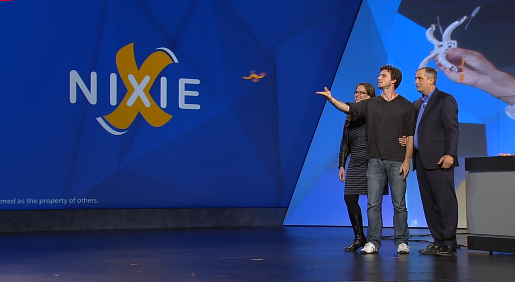 Nixie's wearable drone camera