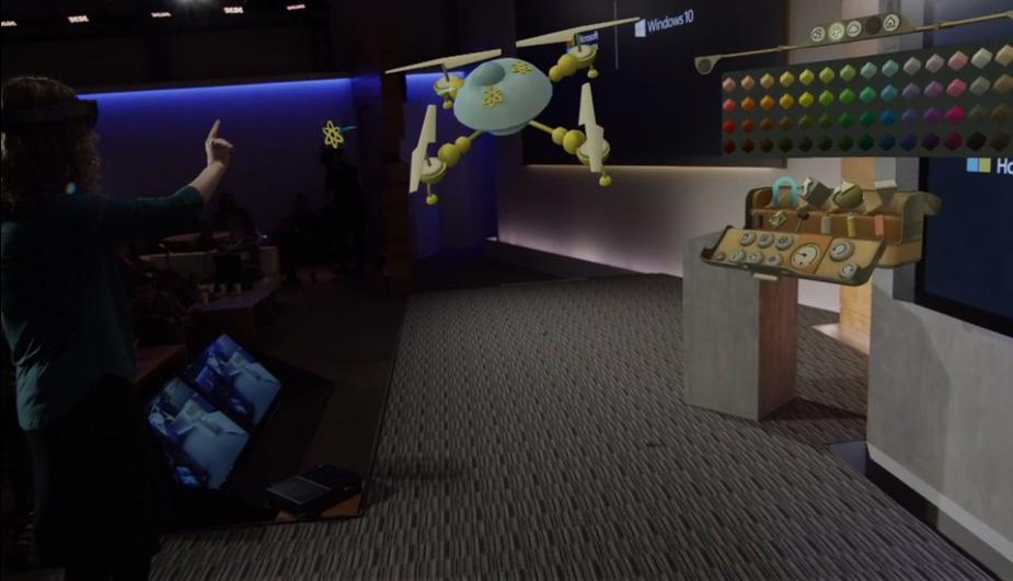 HoloLens HoloStudio