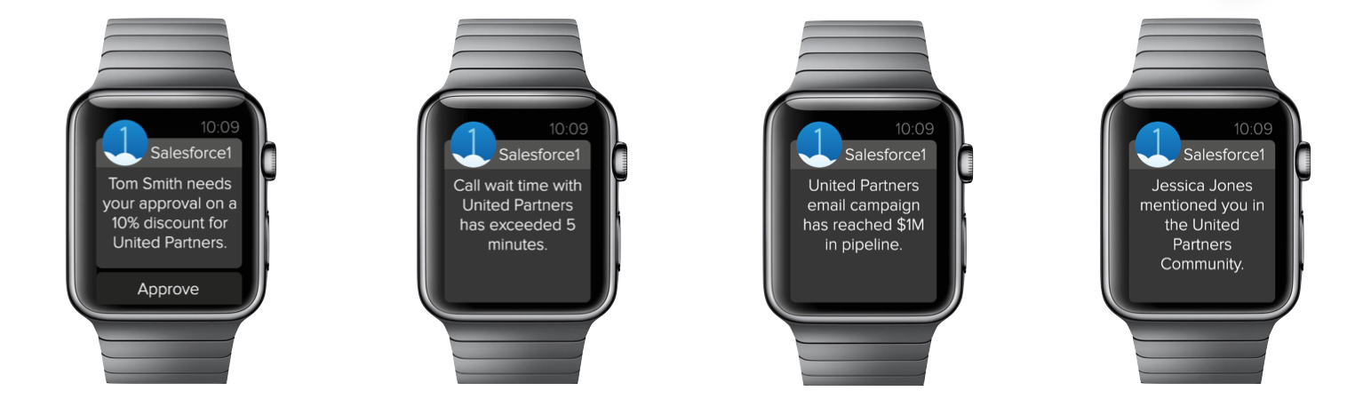 Salesforce1 for Apple Watch