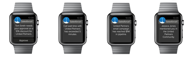 Salesforce1 for Apple Watch