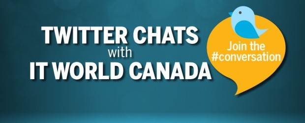 Twitter chat, IT World Canada