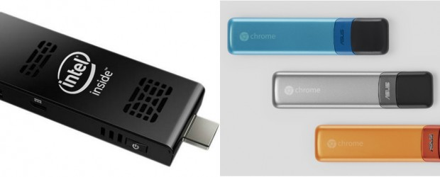 Intel Compute Stick and the Google Chromebit