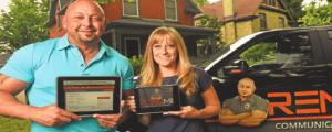 Scott Baker and Kara Smith of Renomii Corp.
