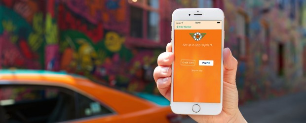 Beck Taxi In-App Payment Via PayPal and Credit Card