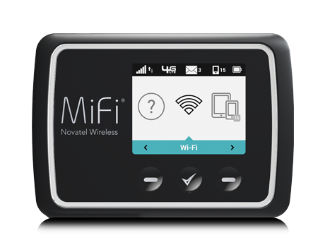 Novatel's 4G LTE MiFi mobile hotspot with global compatibility
