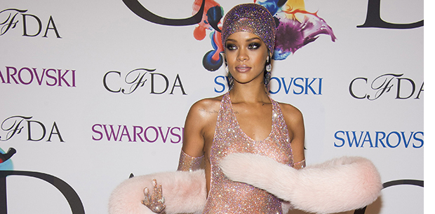 3D Printing helped product Rihanna's dress for NYC Fashion Awards 2014