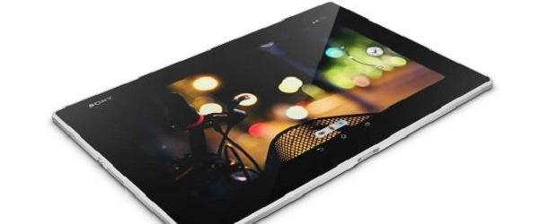 The Sony Xperia Z2 tablet