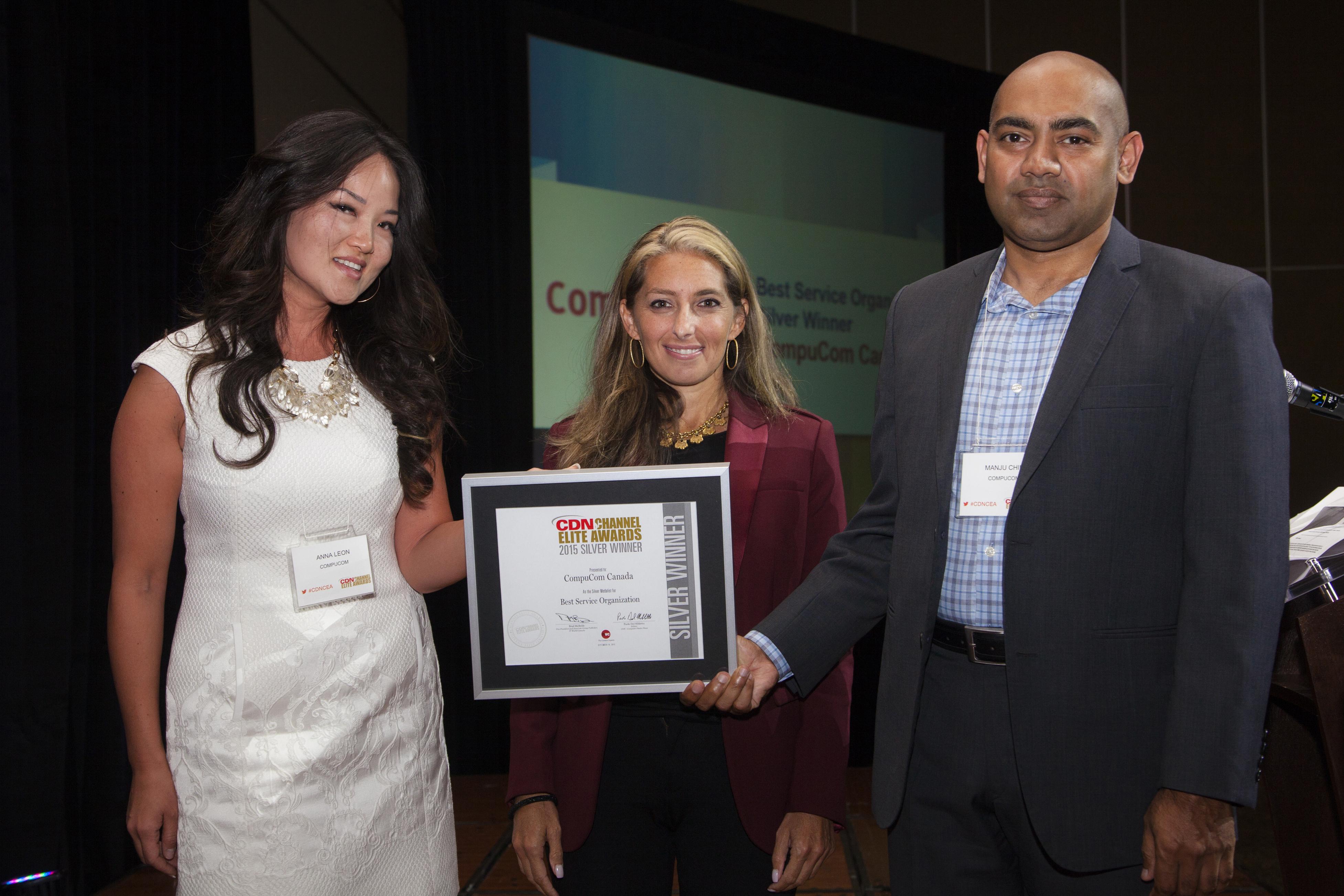 17 Best Service Organization Silver CompuCom Canada