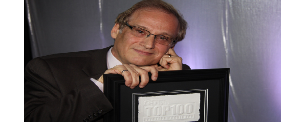 Harry Zarek with the CDN  No. 1 Solution Provider award. After Metafore deal, Compugen might reach the top again