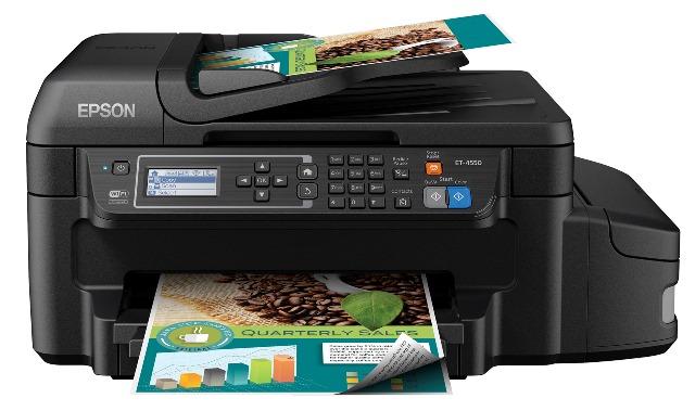 Epson WorkForce ET 4550 EcoTank all-in-one printer