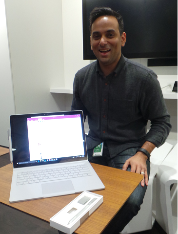 Sheriff Ibrahim, Category Lead, First Party Devices at Microsoft Canada