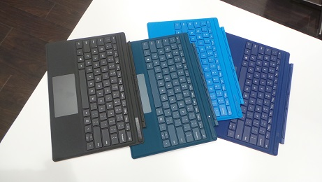 The new Surface Pro 4 keyboards are backwards compatible
