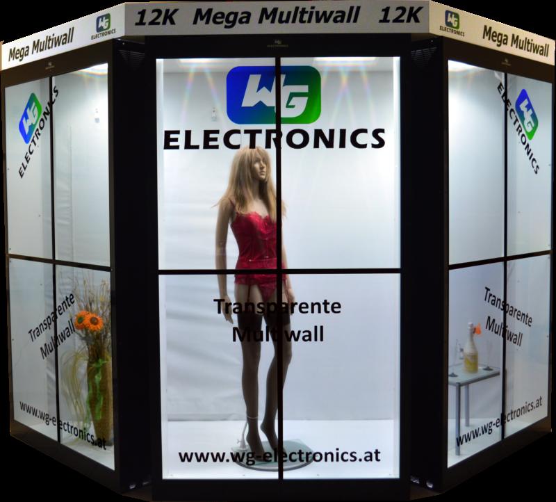 WG ELectronics Transparent Display