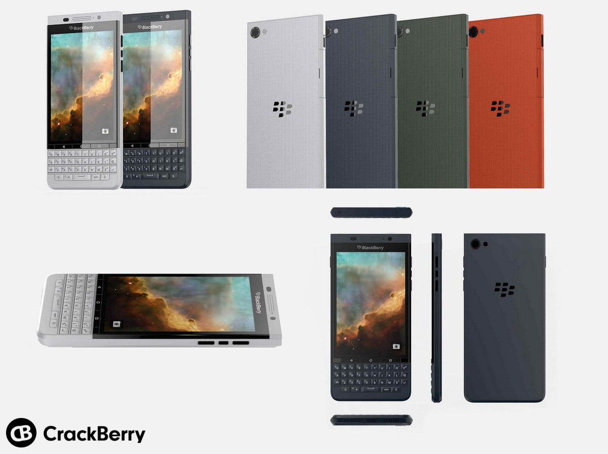 """The second Android-powered BlackBerry device, codenamed """"Vienna"""" features a persistent keyboard"""