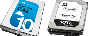 Helium western digital seagate hard drives
