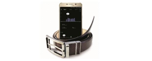 Samsung's Welt is a wearable belt specific for the healthcare market
