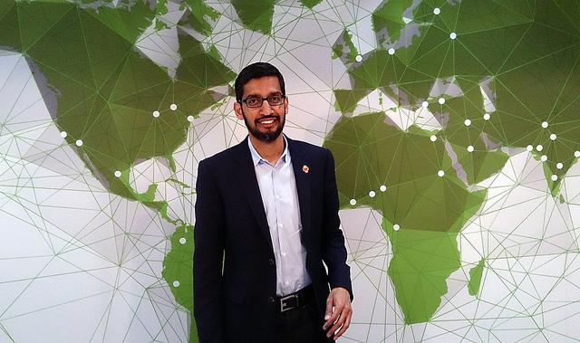 Sundar Pichai, Google CEO