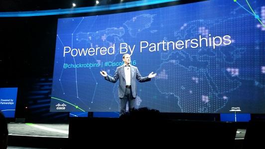Chuck Robbins at the 2016 Cisco Partner Summit