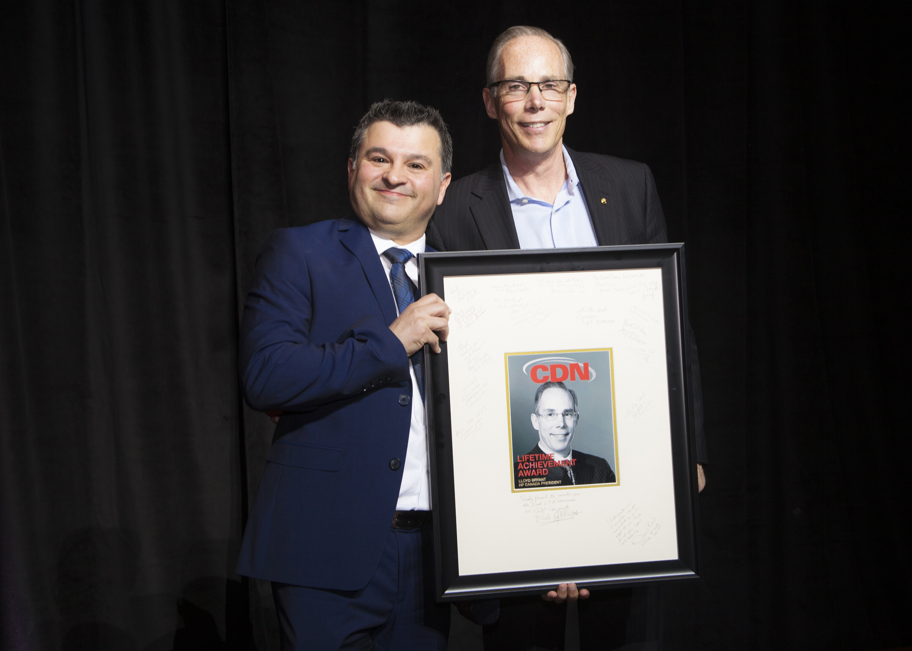 Top 100 solution providers, lloyd bryant lifetime achievement