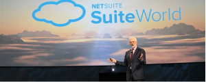 NetSuite CEO Zach Nelson at SuiteWorld in San Jose, Calif.