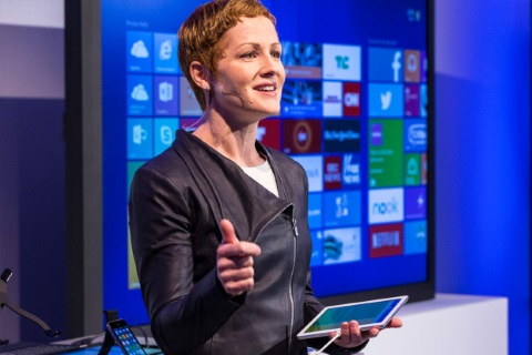 Julia White, Microsoft's general manager of product marketing for Office 365