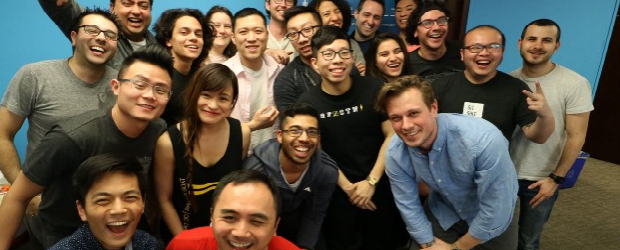 The team at TribalScale in its downtown Toronto office