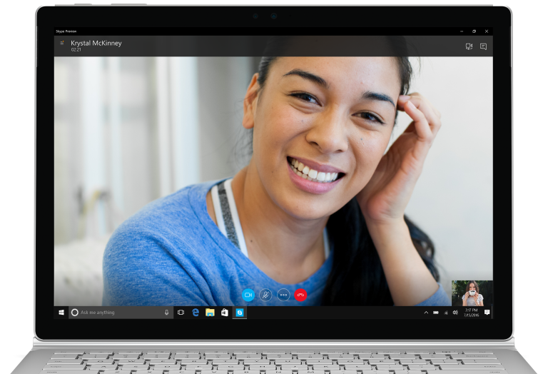 Skype Preview 2