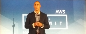 Stephen Orban, AWS head of enterprise strategy at the AWS Summit in Toronto